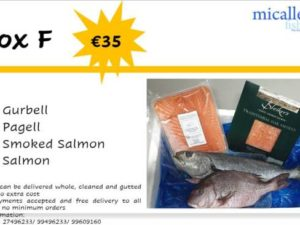 Fresh & Frozen Fish Box F